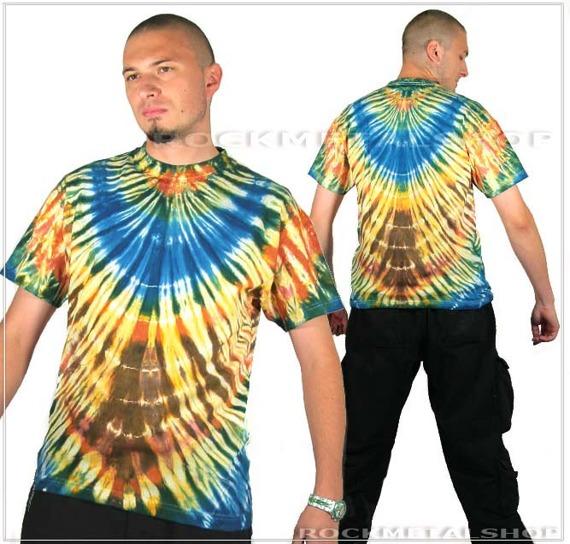 koszulka COLOR MIX barwiona