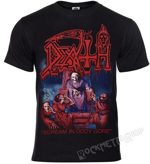koszulka DEATH - SCREAM BLOODY GORE