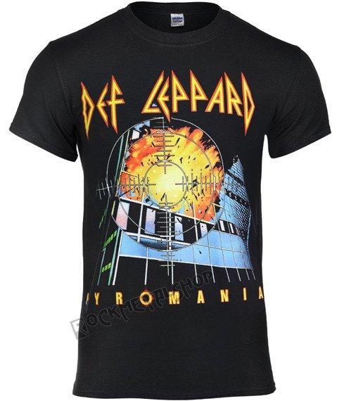 koszulka DEF LEPPARD - PYROMANIA