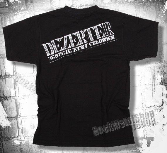 koszulka DEZERTER - JESZCZE ŻYWY CZŁOWIEK