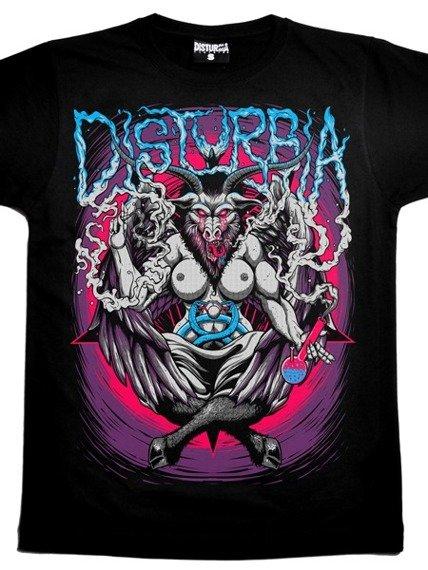 koszulka DISTURBIA - BAPHOMET (BLACK)
