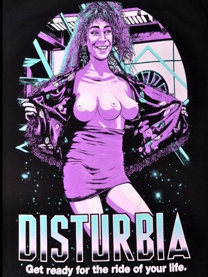 koszulka DISTURBIA - RECALL