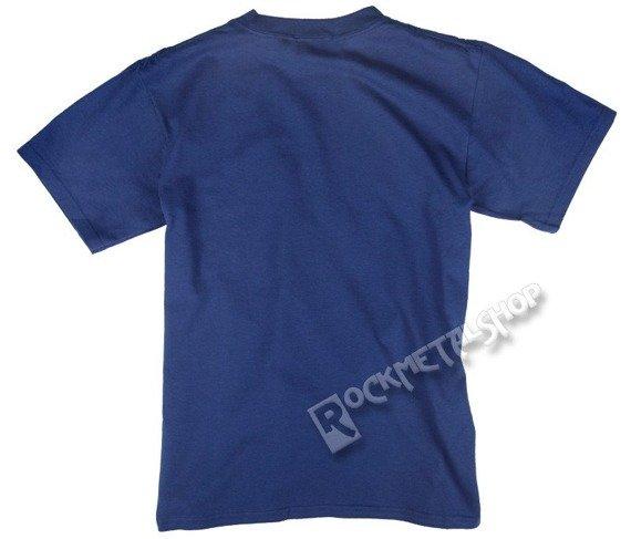 koszulka ELVIS PRESLEY - BLUE SUEDE niebieska