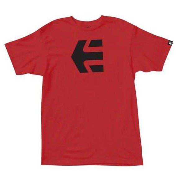 koszulka ETNIES - ICON (RED) 10'