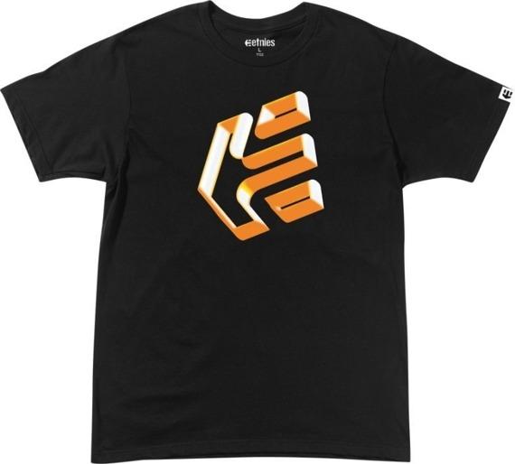 koszulka ETNIES - TRE DIS (BLACK) 09'
