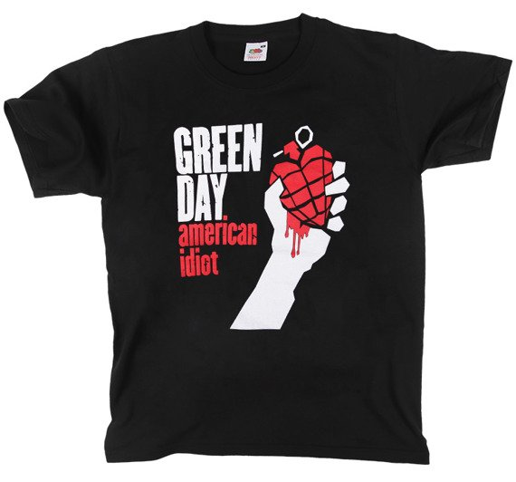 koszulka GREEN DAY - AMERICAN IDIOT