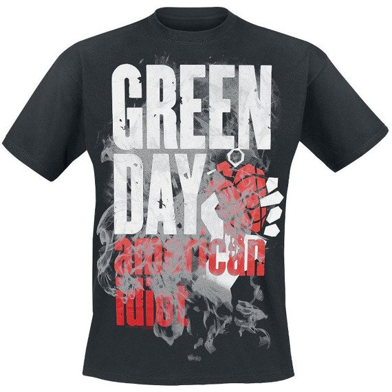 koszulka GREEN DAY - SMOKE SCREEN