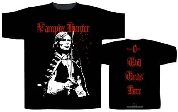 koszulka HAMMER HORROR - VAMPIRE HUNTER