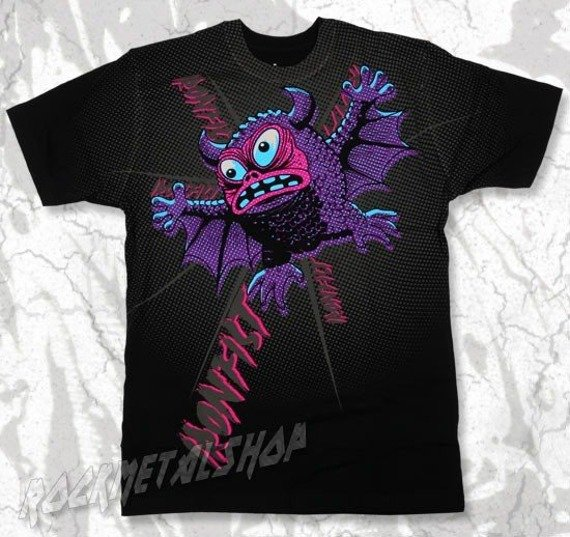 koszulka IRON FIST - BATTY BOI (BLACK)
