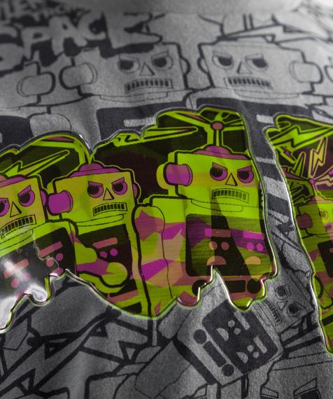 koszulka IRON FIST - KILLER ROBOTS (CHARCOAL) 09'