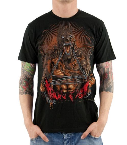 koszulka IRON FIST - LYCAN (BLACK)