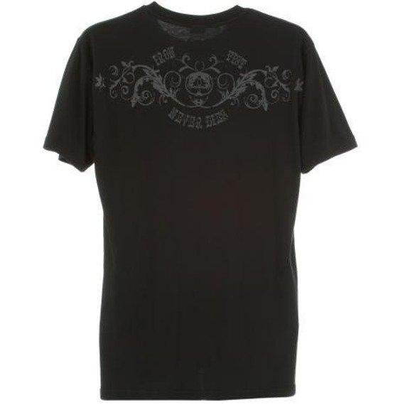 koszulka IRON FIST - NEVER DIE (BLACK)