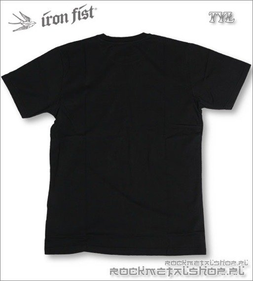 koszulka  IRON FIST - ROLLIN COBRAS (BLACK)