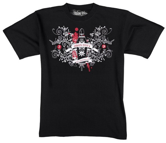 koszulka IRON FIST - YOUR COFFIN OR MINE (BLACK)