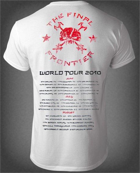 koszulka IRON MAIDEN - EL DORADO TOUR