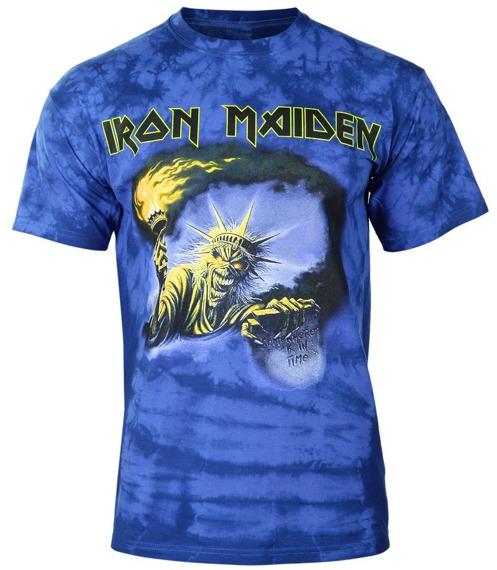koszulka IRON MAIDEN - SOMEWHERE BACK IN TIME barwiona