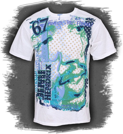 koszulka JIMI HENDRIX - LEAD AND RHYTHM