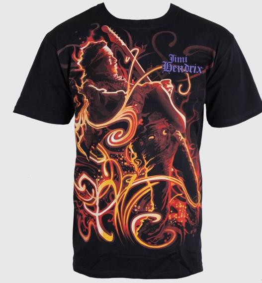 koszulka JIMI HENDRIX - ON FIRE