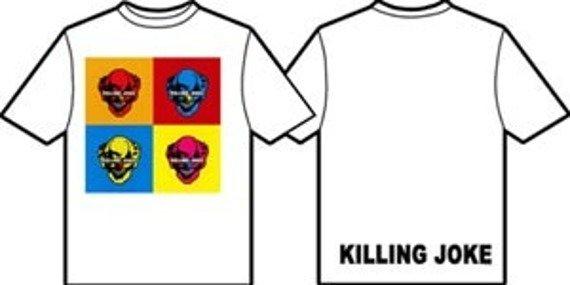 koszulka KILLING JOKE-WARHOL SQUARES WHITE