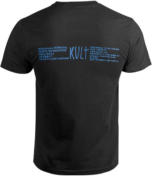 koszulka KULT - KULT [PATCH]