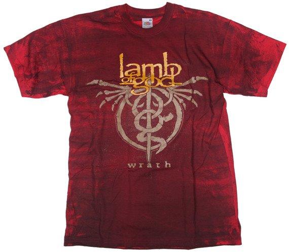 koszulka LAMB OF GOD - WRATH barwiona