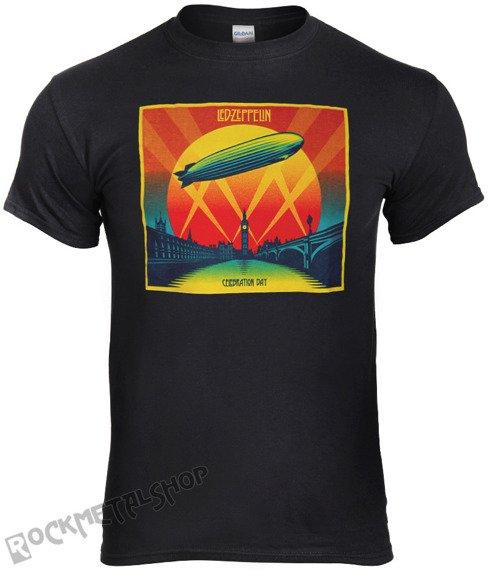 koszulka LED ZEPPELIN - CELEBRATION DAY CD COVER