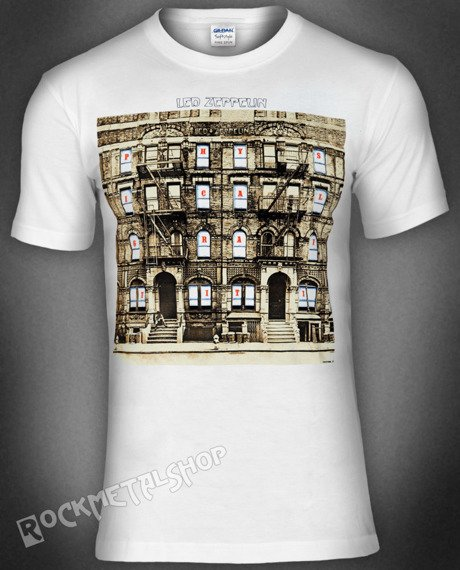 koszulka LED ZEPPELIN - PHYSICAL GRAFFITI