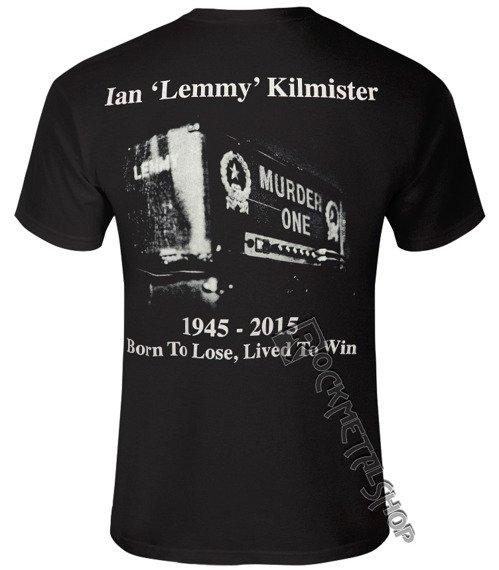 koszulka LEMMY - LIVED TO WIN