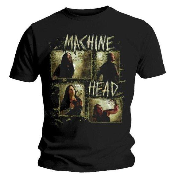 koszulka MACHINE HEAD - RECTANGLE PHOTOS