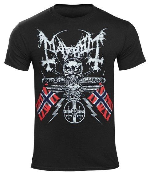 koszulka MAYHEM - 25 YEARS COAT OF ARMS