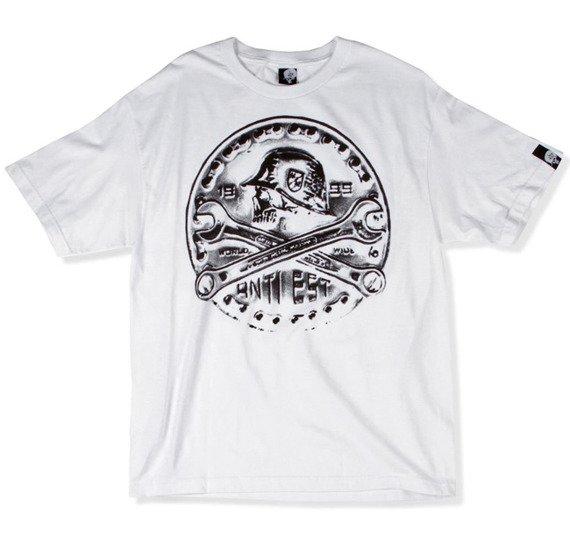 koszulka METAL MULISHA - FORGE biała
