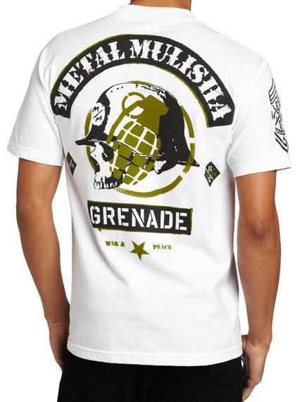 koszulka METAL MULISHA - MMXGG-AFFILIATION biała