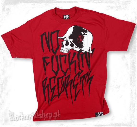koszulka METAL MULISHA - N.F.R. czerwona
