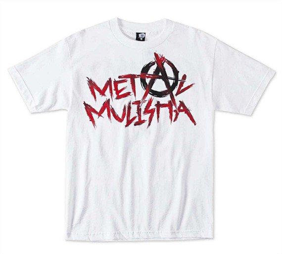 koszulka METAL MULISHA - SCUMMY biała
