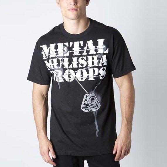 koszulka METAL MULISHA - TAGS czarna