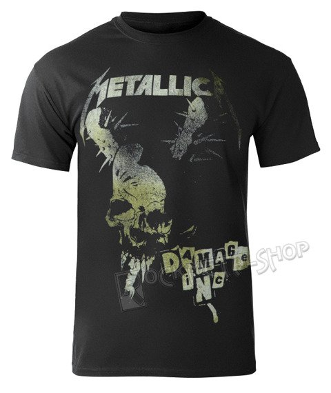koszulka METALLICA - DAMAGE VINTAGE