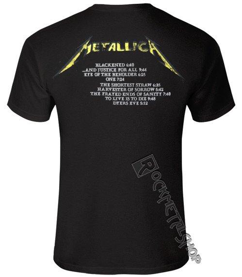 koszulka METALLICA - JUSTICE M
