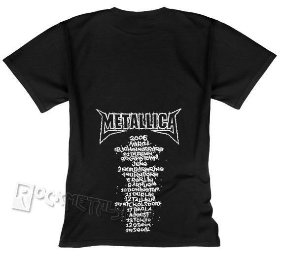koszulka METALLICA - SUMMER VACATION 2008