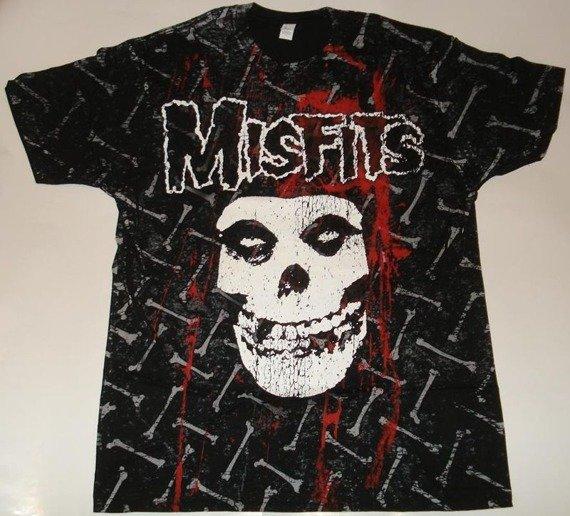 koszulka MISFITS - BONES ALLOVER