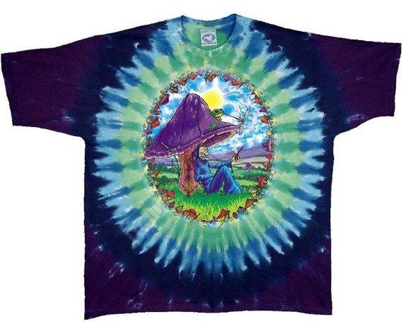 koszulka MUSHROOM HEAVEN barwiona