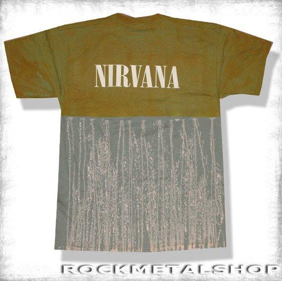 koszulka NIRVANA barwiona