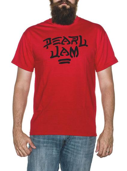 koszulka PEARL JAM - RED LOGO