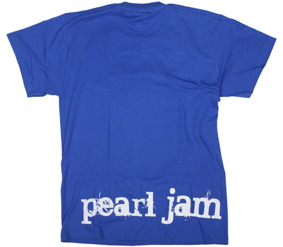 koszulka PEARL JAM niebieska