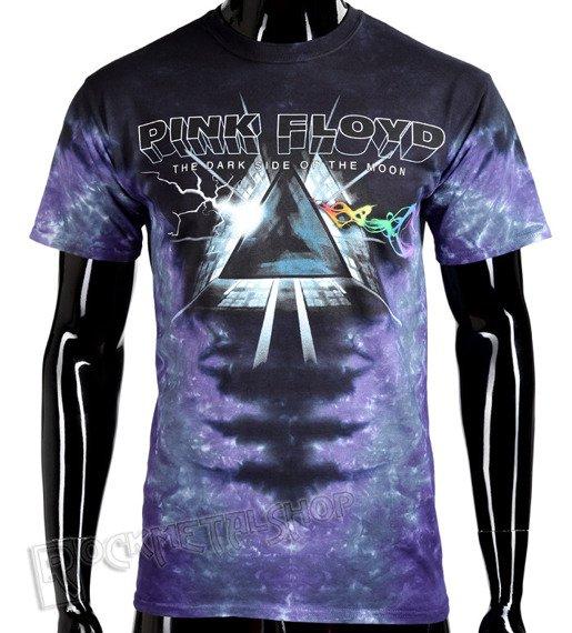 koszulka PINK FLOYD - DARK SIDE VORTEX, barwiona