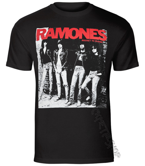 koszulka RAMONES - ROCKET TO RUSSIA