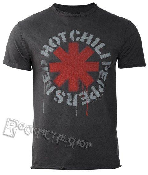 koszulka RED HOT CHILI PEPPERS - LOGO CHARCOAL
