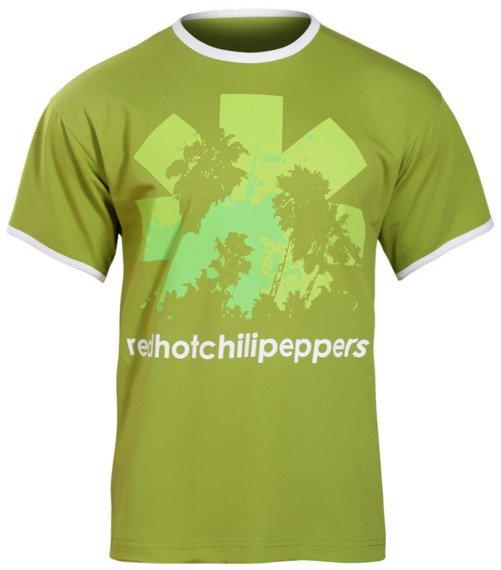 koszulka RED HOT CHILI PEPPERS zielona