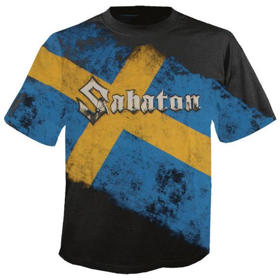koszulka SABATON - SWEDISH EMPIRE LIVE DELUXE