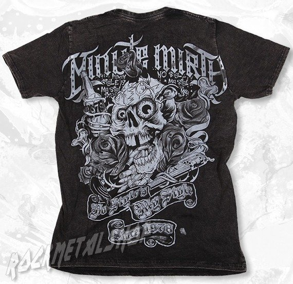 koszulka SHIROI NEKO/MINUTE MIRTH (BLACK)