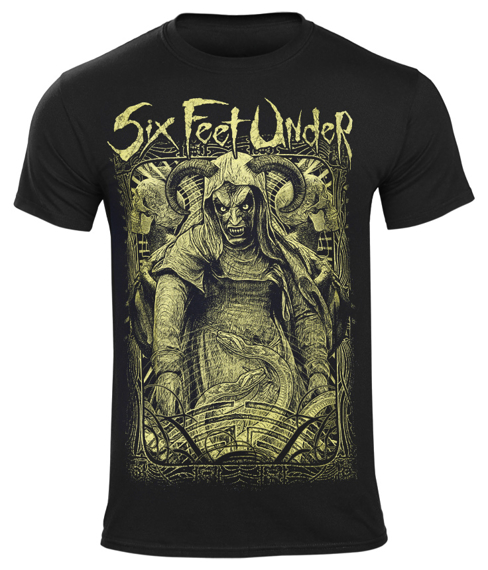 koszulka SIX FEET UNDER - WITCH